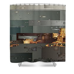 Padre Bay Shower Curtain