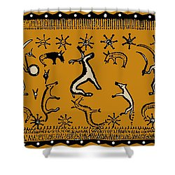 Pagan Rituals Shower Curtain by Vagabond Folk Art - Virginia Vivier