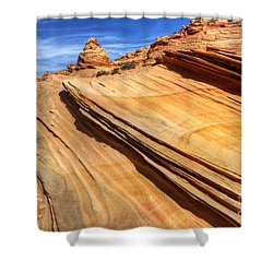 Pages From Natures Story Shower Curtain by Bob Christopher