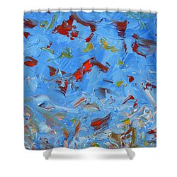 Paint Number 47 Shower Curtain by James W Johnson