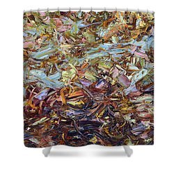 Paint Number 51 Shower Curtain by James W Johnson