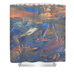 Paint Number 58c Shower Curtain