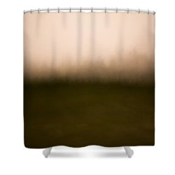 Painted Dolly Sods Shower Curtain
