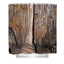 Painted Grotto Carlsbad Caverns National Park Shower Curtain