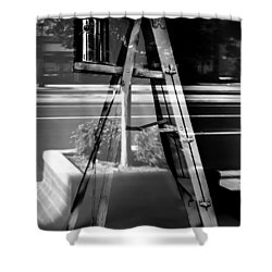 Painted Illusions - Abstract Shower Curtain by Steven Milner