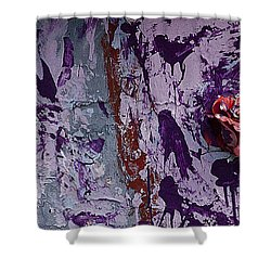 Painted Rose   #5695 Shower Curtain