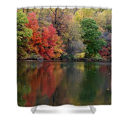 Shower Curtain featuring the photograph Painted Water by Richard Bryce and Family