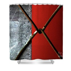 Shower Curtain featuring the photograph Paired by Newel Hunter