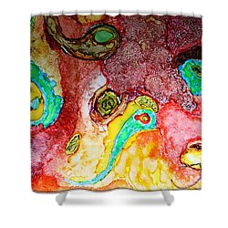 Paisley Whispers.. Shower Curtain