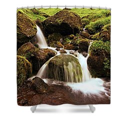 Pakgil Streamfall Shower Curtain