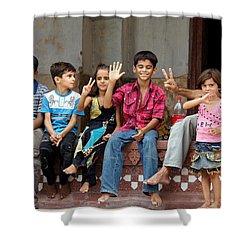 Pakistani Kids Shower Curtain