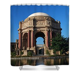 Palace Of Fine Arts Color Shower Curtain
