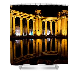 Palace Of Fine Arts San Francisco Shower Curtain