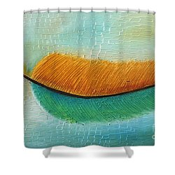 Pale Shower Curtain