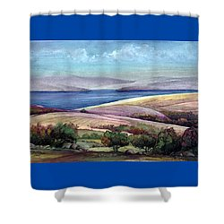 Palestine View Shower Curtain