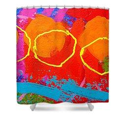 Palimpsest 004 Shower Curtain by John  Nolan