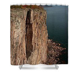 Shower Curtain featuring the photograph Palisade Depths by James Peterson