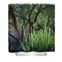 Shower Curtain featuring the photograph Palm Desert Museum Of Art by Sherri  Of Palm Springs