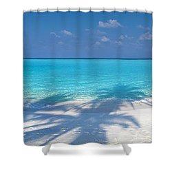 Palm Escape Shower Curtain