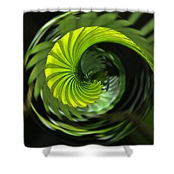 Palmetto Nautilus Shower Curtain