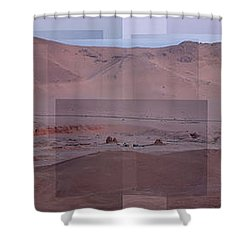 Palmyra Syria Valley Of The Tombs Shower Curtain