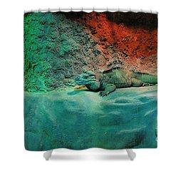 Pals Shower Curtain by Kathleen Struckle