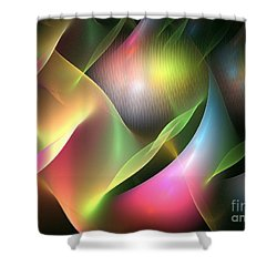 Pan Shower Curtain by Kim Sy Ok