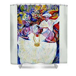 Panama Carnival. Fiesta Shower Curtain