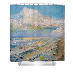 Panama City Beach Shower Curtain