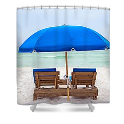 Shower Curtain featuring the photograph Panama City Beach Florida by Vizual Studio