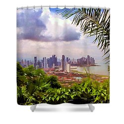 Panama City From Ancon Hill Shower Curtain