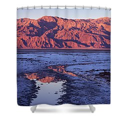 Panamint Reflection 2 Shower Curtain