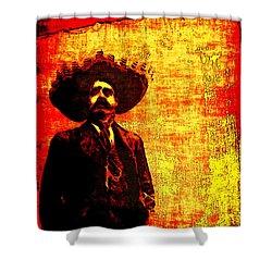 Pancho Villa Shower Curtain
