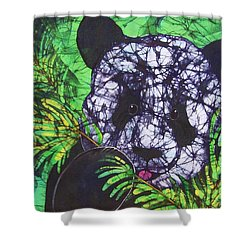Panda Snack Shower Curtain