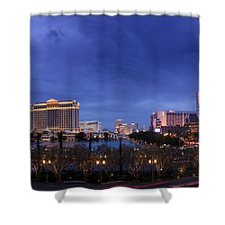 Panorama Of Las Vegas Shower Curtain
