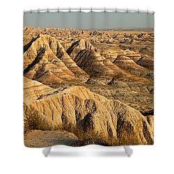 Panorama Point Badlands National Park Shower Curtain