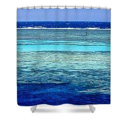 Panorama Reef Shower Curtain