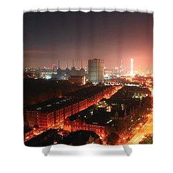 Panoramic London Shower Curtain