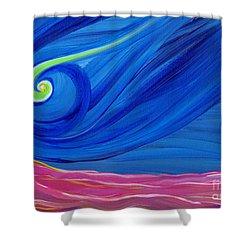 Panspermia  Shower Curtain by First Star Art