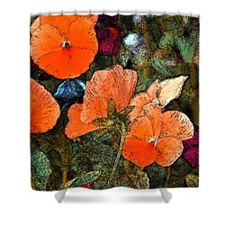 Pansy 10 Shower Curtain