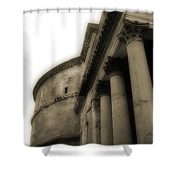 Pantheon Shower Curtain by Angela DeFrias