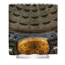 Pantheon Ceiling Detail Shower Curtain