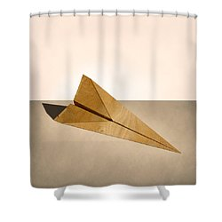 Paper Airplanes Of Wood 15 Shower Curtain