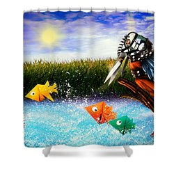 Paper Dreams Shower Curtain