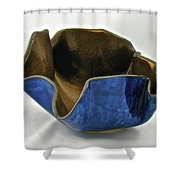 Paper-thin Bowl  09-005 Shower Curtain