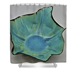 Paper-thin Bowl  09-008 Shower Curtain by Mario Perron
