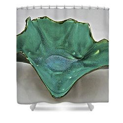 Paper-thin Bowl  09-009 Shower Curtain by Mario Perron