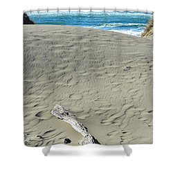 Papillon Shower Curtain by CML Brown