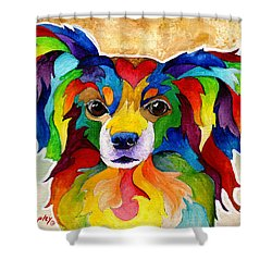 Papillon Shower Curtain by Sherry Shipley