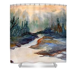 Pappa's Place Shower Curtain